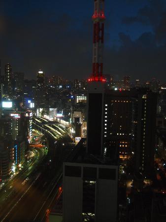 Imperial Hotel Tokyo: 新橋方向