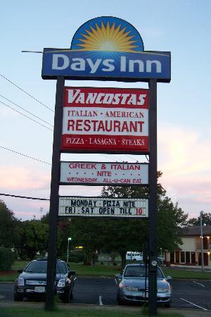 Vancostas: Located on the grounds of Days Inn Newport News, VA