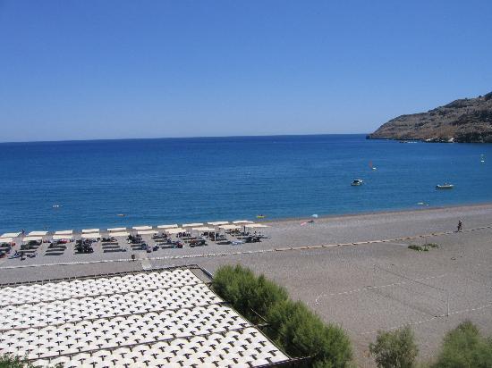 Sensimar Lindos Bay Resort & Spa: La spiaggia
