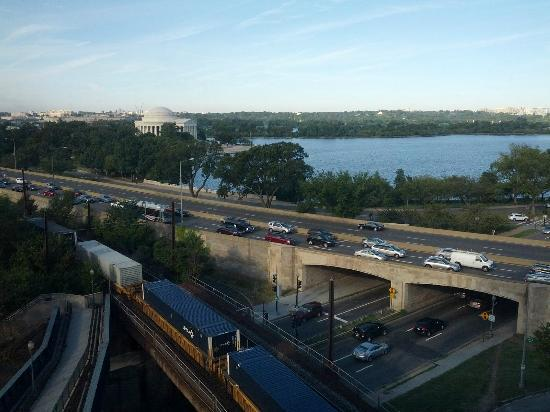 Mandarin Oriental, Washington DC: View of the Tidal Basin from room 562