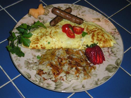 Benefield House Bed & Breakfast: Breakfast