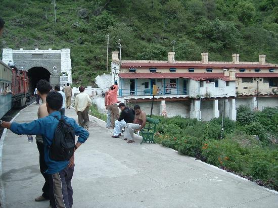 Kalka - Shimla Railway: Koti railway station