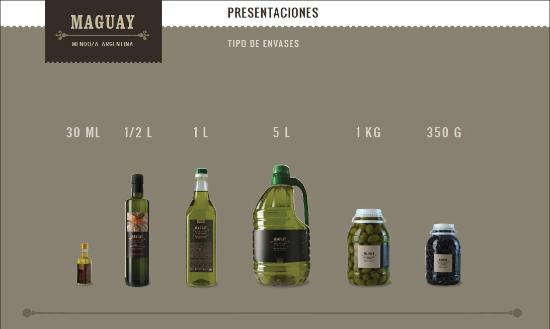 Olivicola Maguay: Productos