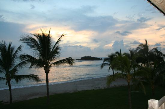 The St. Regis Punta Mita Resort: sunset from our room!