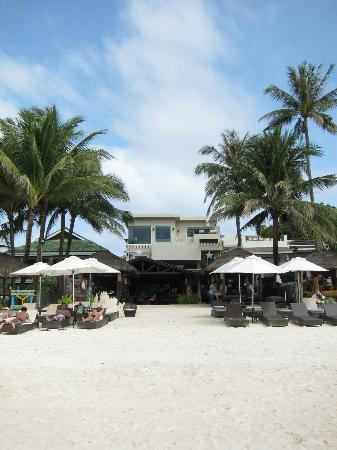 Two Seasons Boracay Resort: front view of hotel