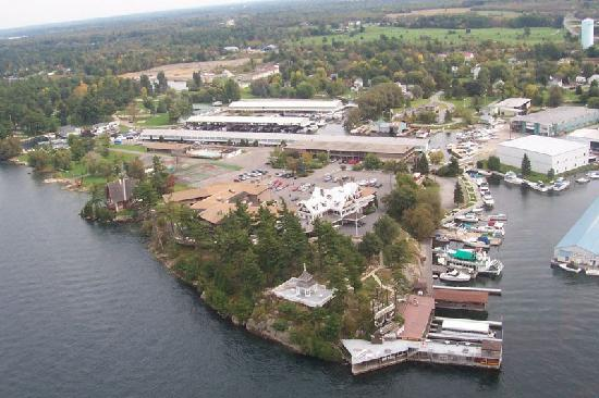Bonnie Castle Resort: View from above