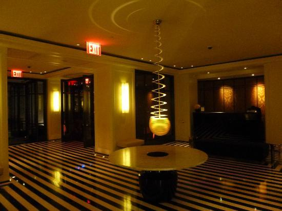 The Mark: The lobby by night