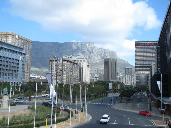 The Westin Cape Town: View from convention center across street