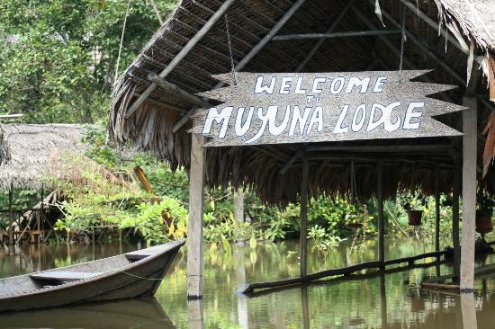 ‪‪Muyuna Amazon Lodge‬: Welcome to Muyuna Lodge