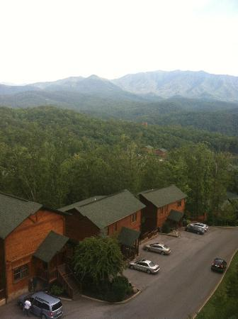 Gatlinburg Falls Resort: Amazing view of the mountains