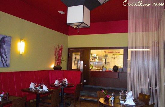 Cavallino Rosso Restaurant: Kitchen