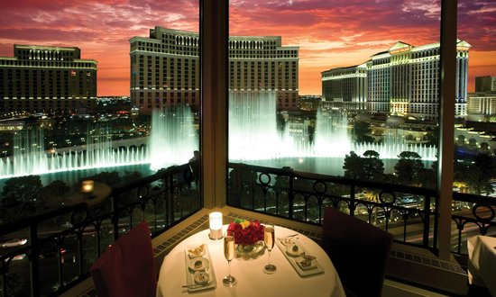 Eiffel Tower Restaurant at Paris Las Vegas