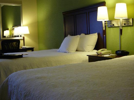 Hampton Inn Dayton/Huber Heights: 2 Queen Beds