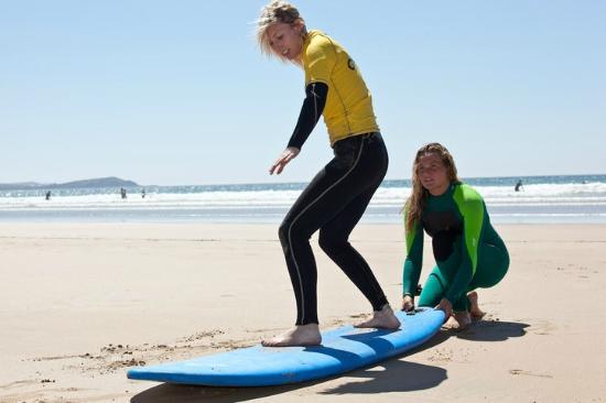 West Coast Surfari: Private 1-1 surfing lessons