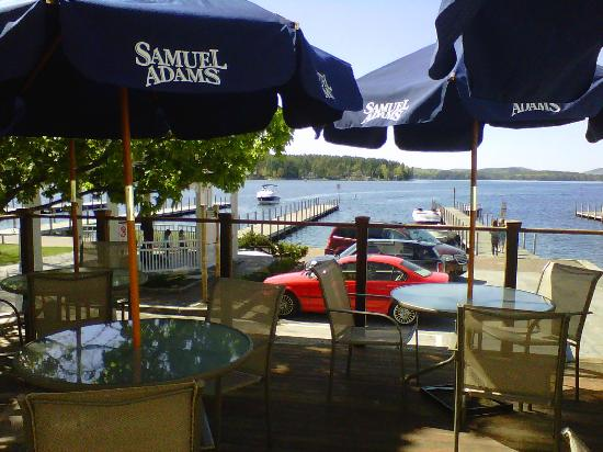 Downtown Grille Cafe llc: The Deck View