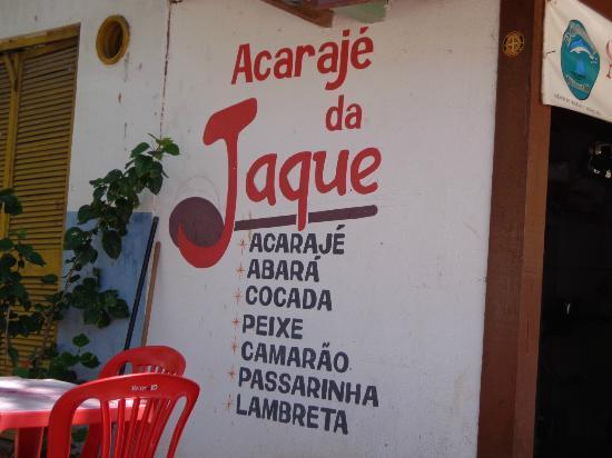 Acaraje da Jaque: Fachada