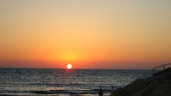 Leonardo Beach Tel Aviv Hotel: sunset