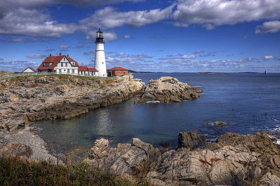 Nice tour of the town and portland head light the scenic for 02 salon portland maine