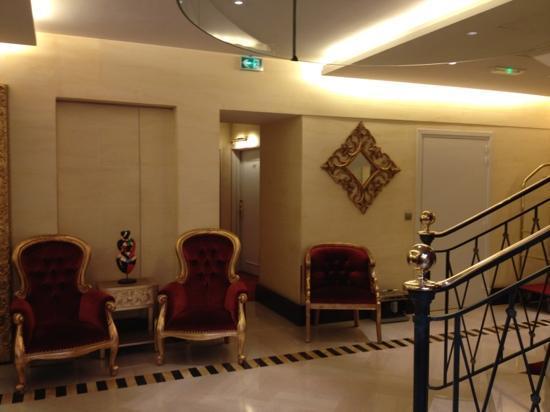 Hotel Waldorf Trocadero: lobby