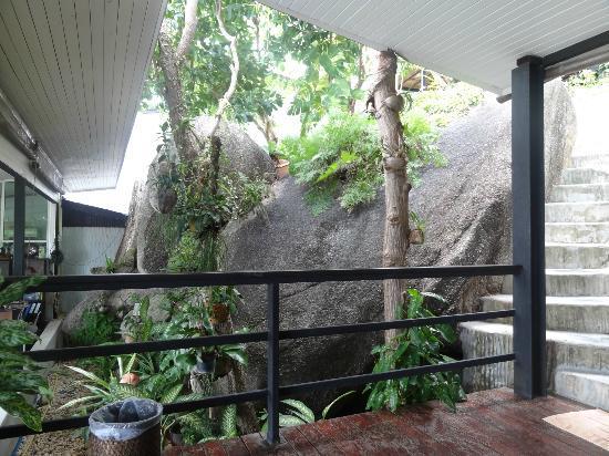 Chintakiri Resort: Partie resto, petit déj