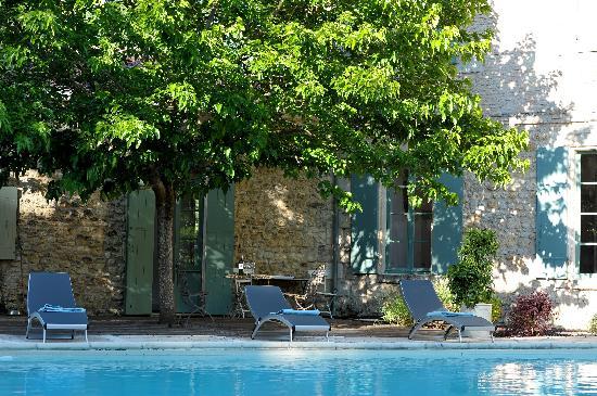 Château de l'Isle : La piscine