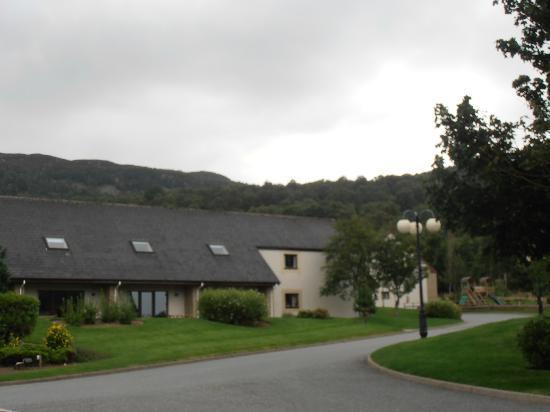 Scandinavian Village: Good location for walking to Craigellachie