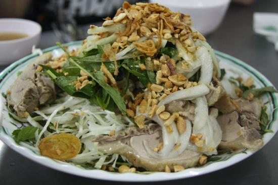 Tur Harian - Back of the Bike Tours: duck salad