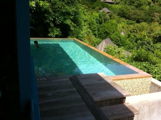 Four Seasons Resort Seychelles: Eigener Pool