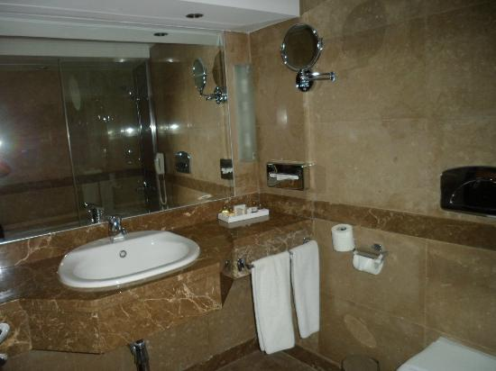 Bathroom of nile view room - Picture of Eatabe Luxor Hotel, Luxor ...