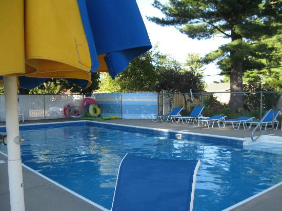 Dell Creek Motel: The outdoor inground heated pool