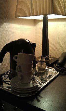 Amberton Cozy: Можно сделать чай или кофе
