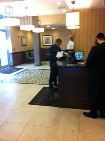 Pointe Plaza Hotel: Reception