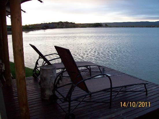 Buffelsdrift Game Lodge: Deck