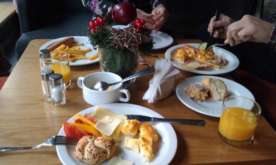 Amberton Cozy: Завтрак
