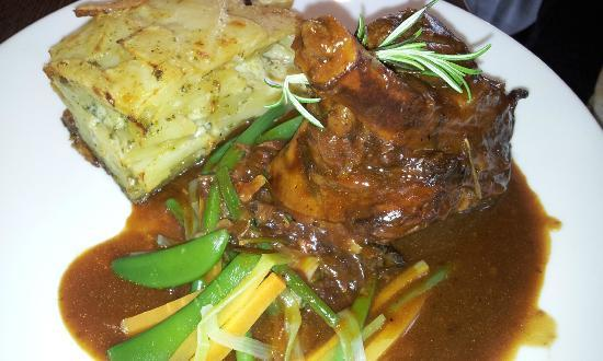 The Harbourmaster: Lamb Shank with Rosemary Wine Sauce