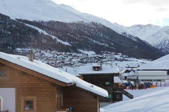 Hotel Garni La Suisse: aussicht