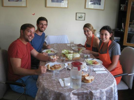 Afiyet Olsun Istanbul-  Cooking Workshop : Fruits of our labor