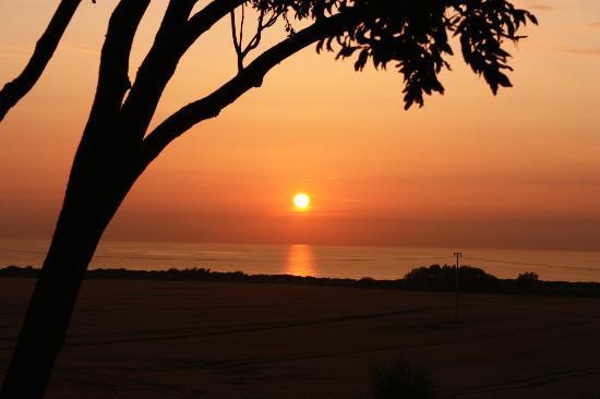 Pension Schmelzer: Sonnenuntergang 2