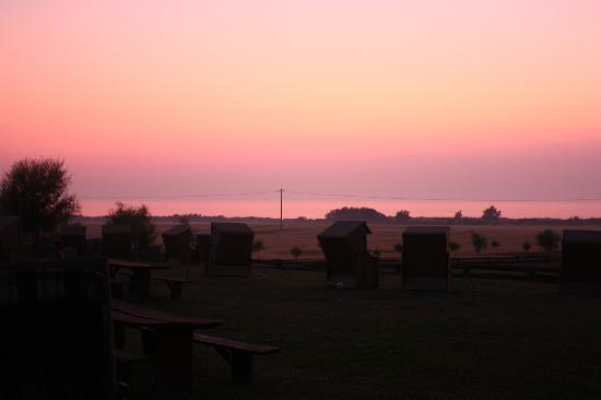Pension Schmelzer: Sonnenuntergang