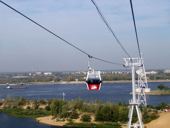 Cable Car Niznhy Novgorod