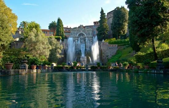 Terra del Sole Valmontone : Villa d'Este - Tivoli