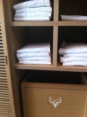 CERVO Zermatt: fresh clean towels, everything was sparkling clean everywhere