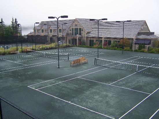 Harborside Hotel & Marina: Les courts de tennis