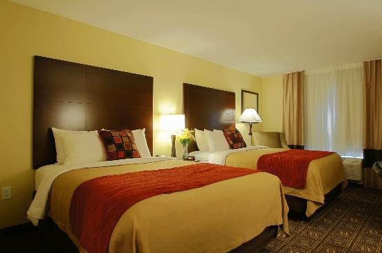 Comfort Inn & Suites Tooele: Standard Double Queen Room