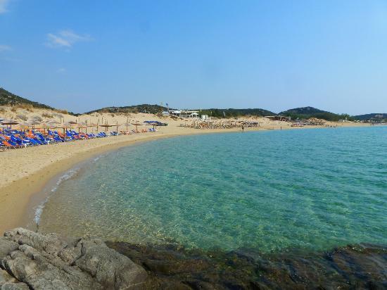 The Castle Of Kavala Ammolofoi Beach Nea Peramos Region Greece