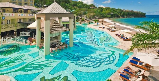 Sandals St Lucia Golf Resort And Spa