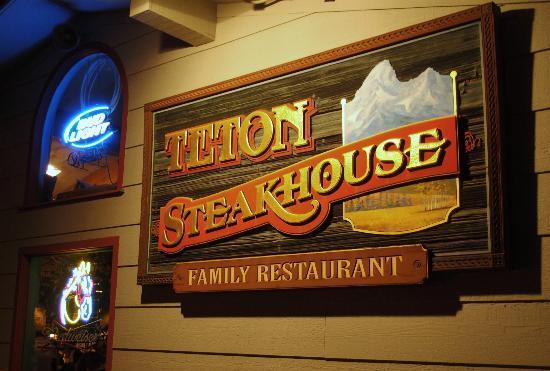 Teton Steak House: Taken with XZ-1 Olympus, no flash, I used night mode.