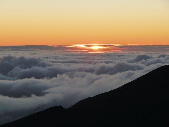 Haleakala Crater: Lige før det sker