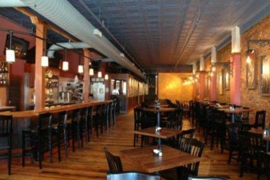 The Restaurant Picture Of The Loft Columbus Tripadvisor