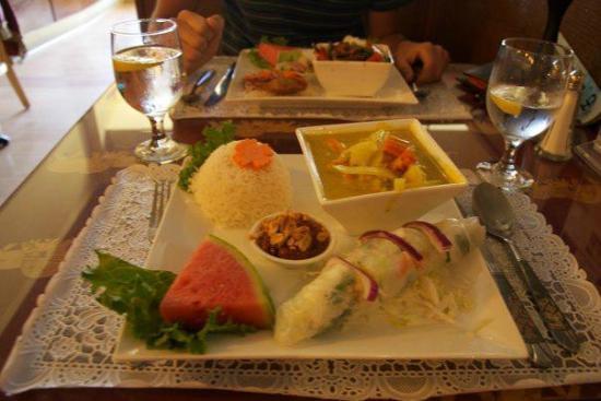 Benjarong Thai Cuisine : Manù pranzo tipo 2